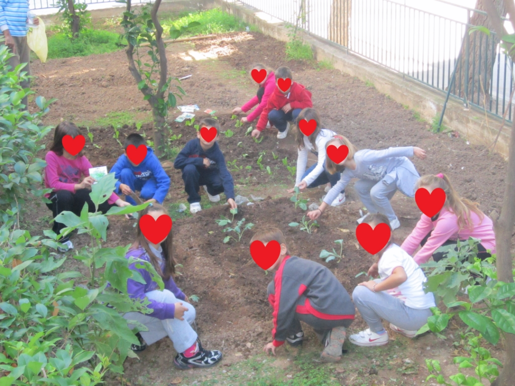 Our Garden - 1st Primary School of Itea, Greece