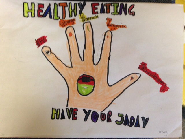 Healthy Eating Poster By P7b